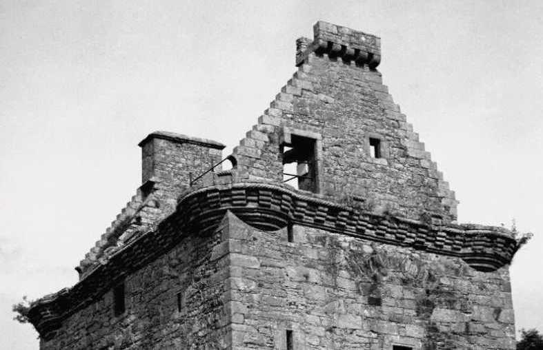 Башня Гилноки. Площадка для сигнального огня и парапет