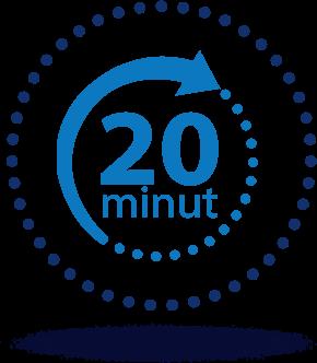 20 minut