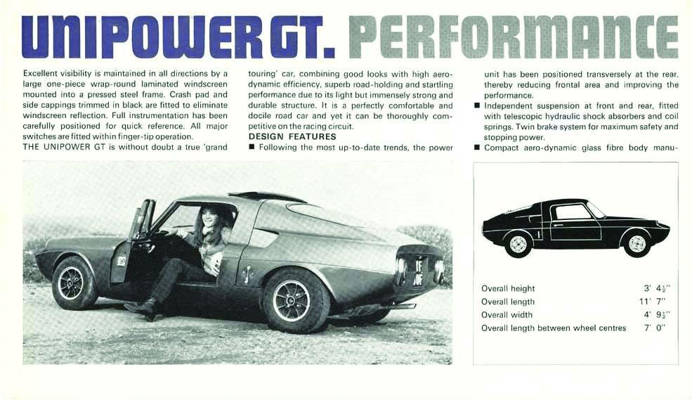 More than just a Pocket Rocket - The 1966 Unipower GT