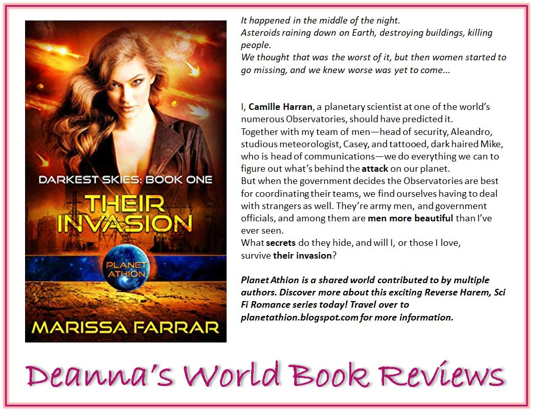 Their Invasion by Marissa Farrar blurb