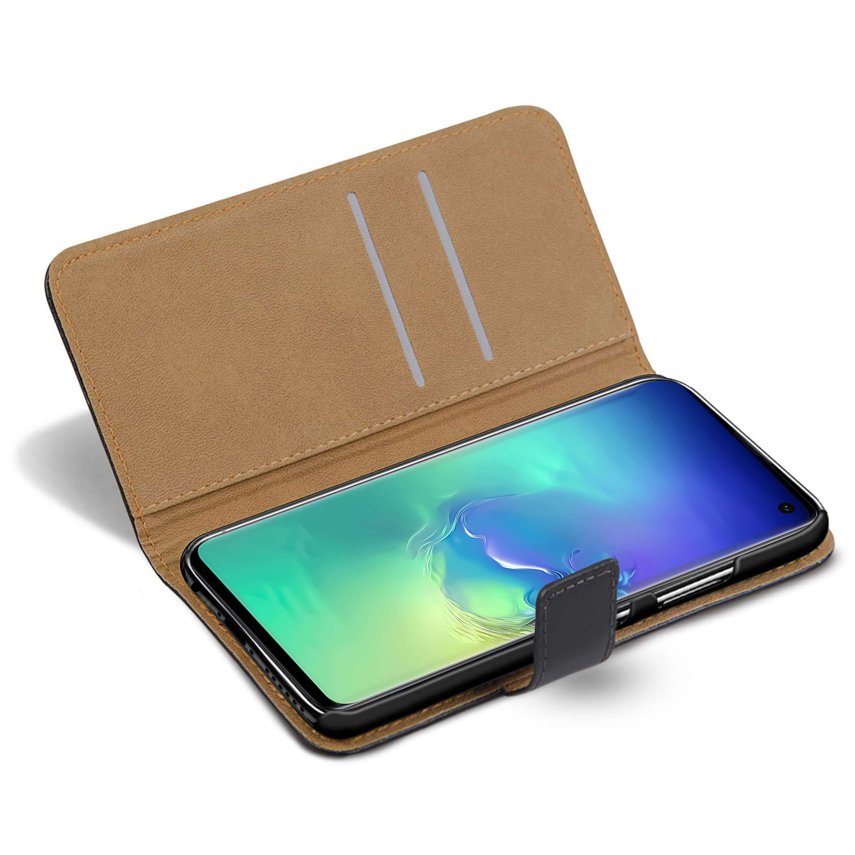 Leather-Flip-Wallet-Magnetic-Case-Cover-For-Samsung-Galaxy-S10-Plus-S9-S8-A50 thumbnail 22