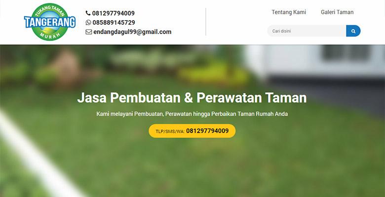 Website Tukang Taman Tangerang