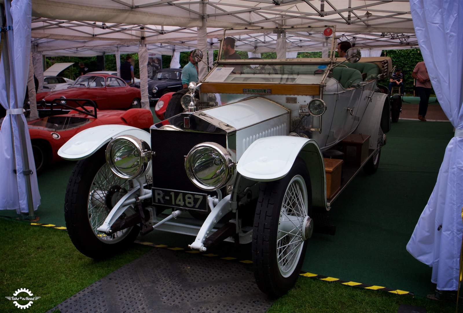 Trio of Royal Cars to grace Blenheim lawns at Salon Prive