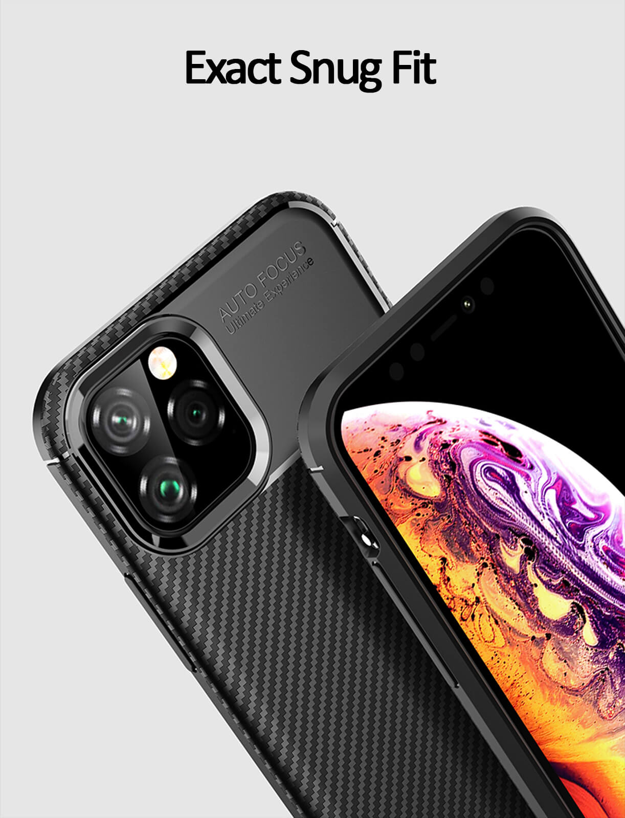 thumbnail 50 - Case for iPhone Carbon Fibre Soft Cover TPU Silicone Slim 11 X XR Max 8 7 6 Plus