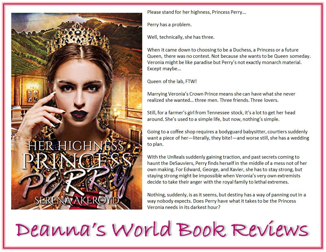Her Highness Princess Perry by Serena Akeroyd blurb