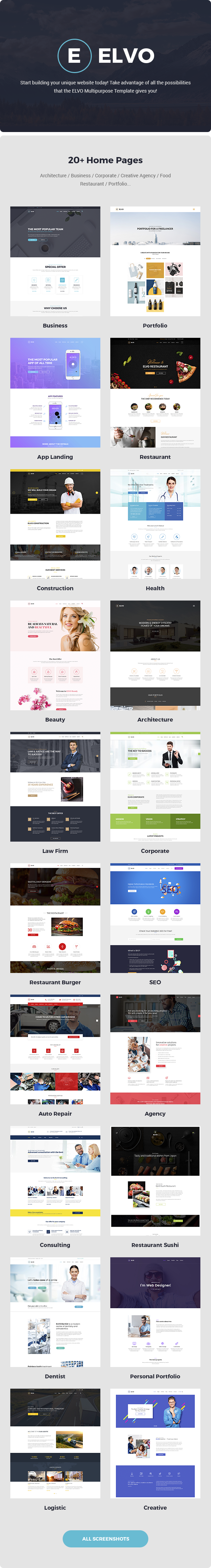 ELVO – Business Multipurpose Joomla Template