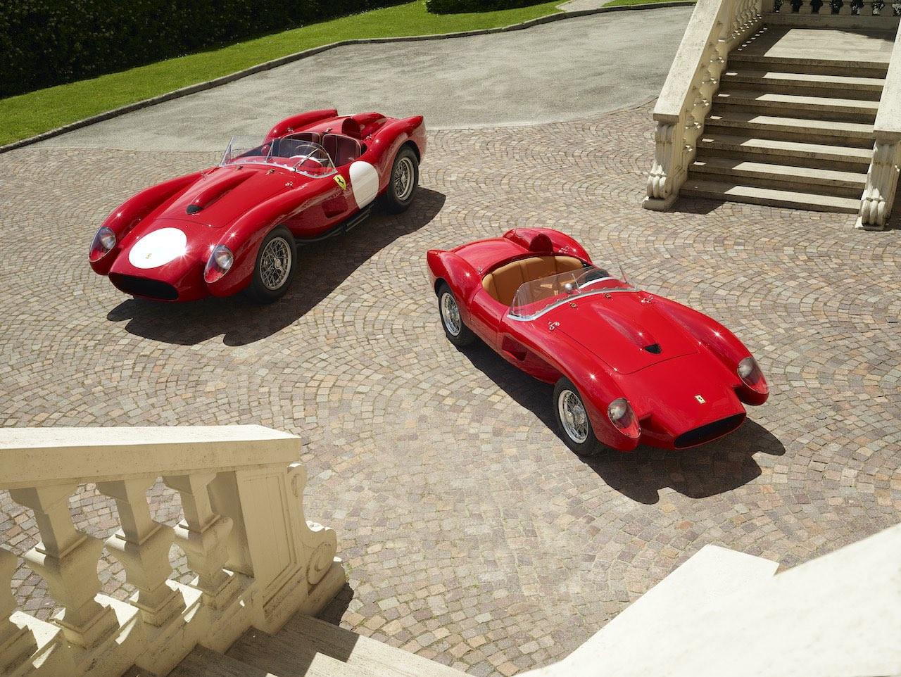 Ferrari unveils electric Testa Rossa J scale replica
