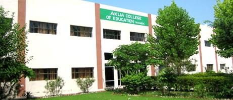 Aklia College of Education, Bathinda