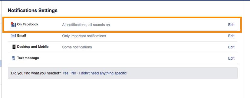 notifications desktop
