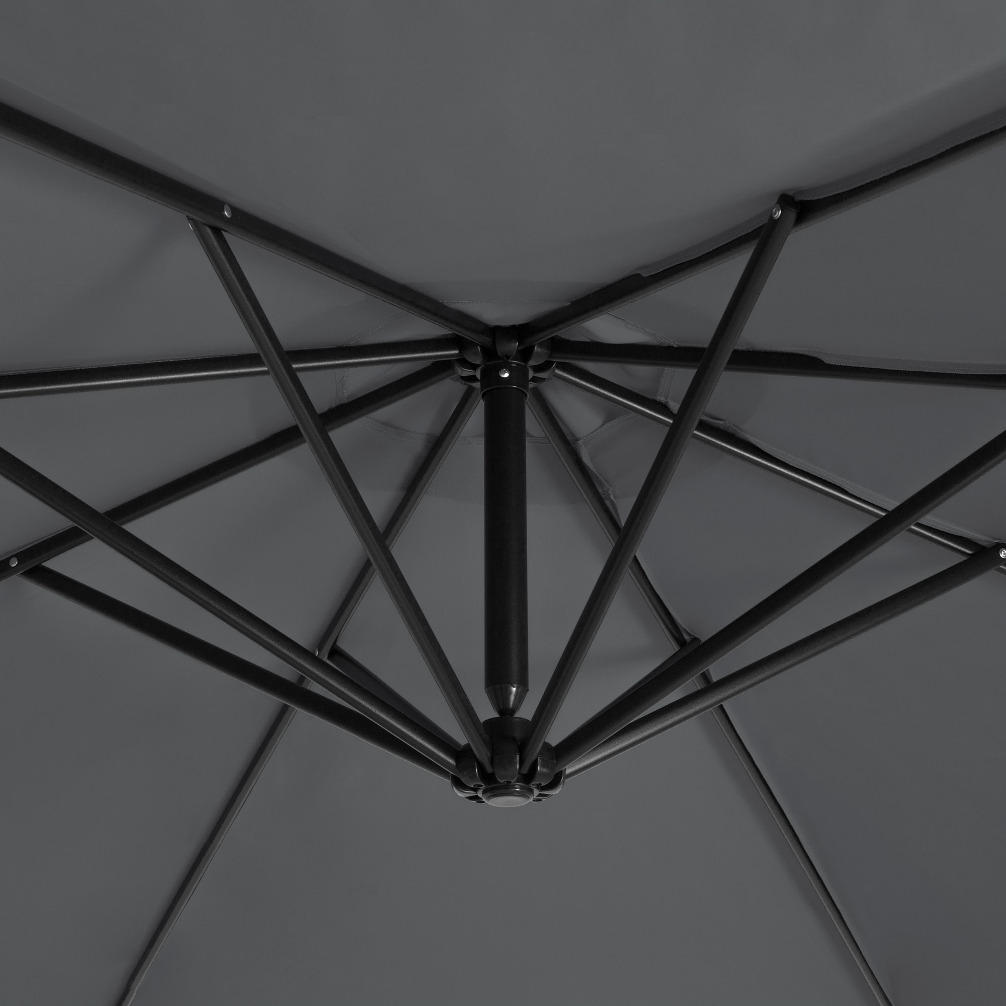 BCP-10ft-Offset-Hanging-Market-Patio-Umbrella-w-Tilt-Adjustment-Hand-Crank thumbnail 28