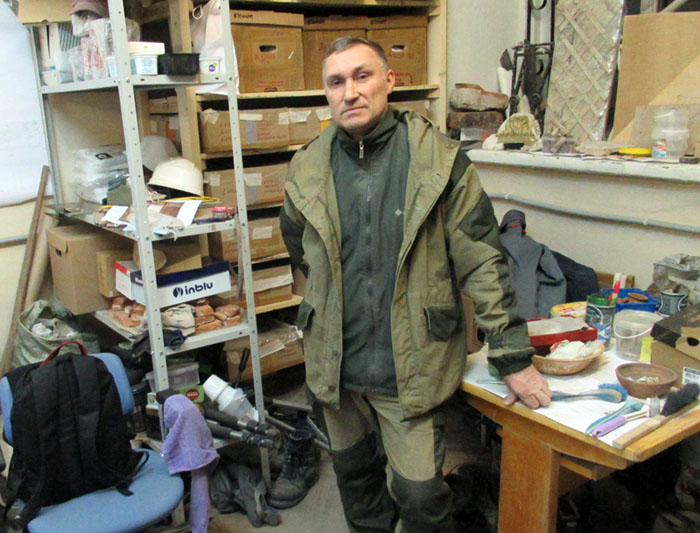Один осенний рабочий день петербургского археолога