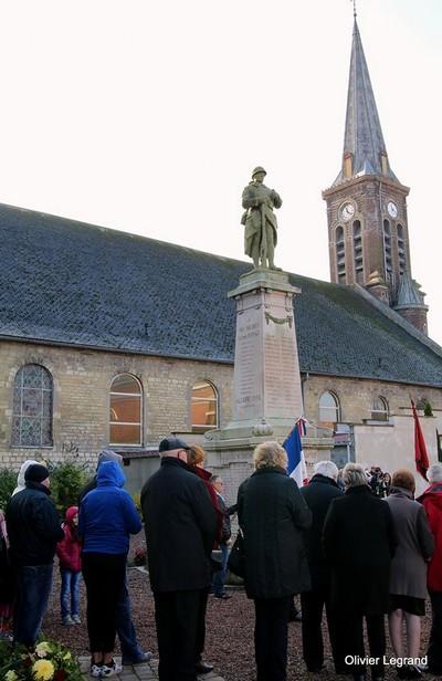 Cérémonie du 11 novembre à Haspres