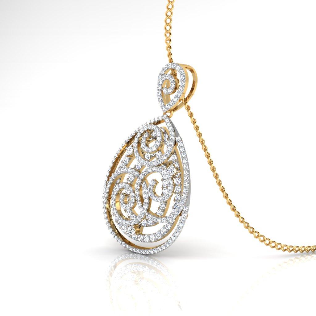 The Preety Diamond Pendant