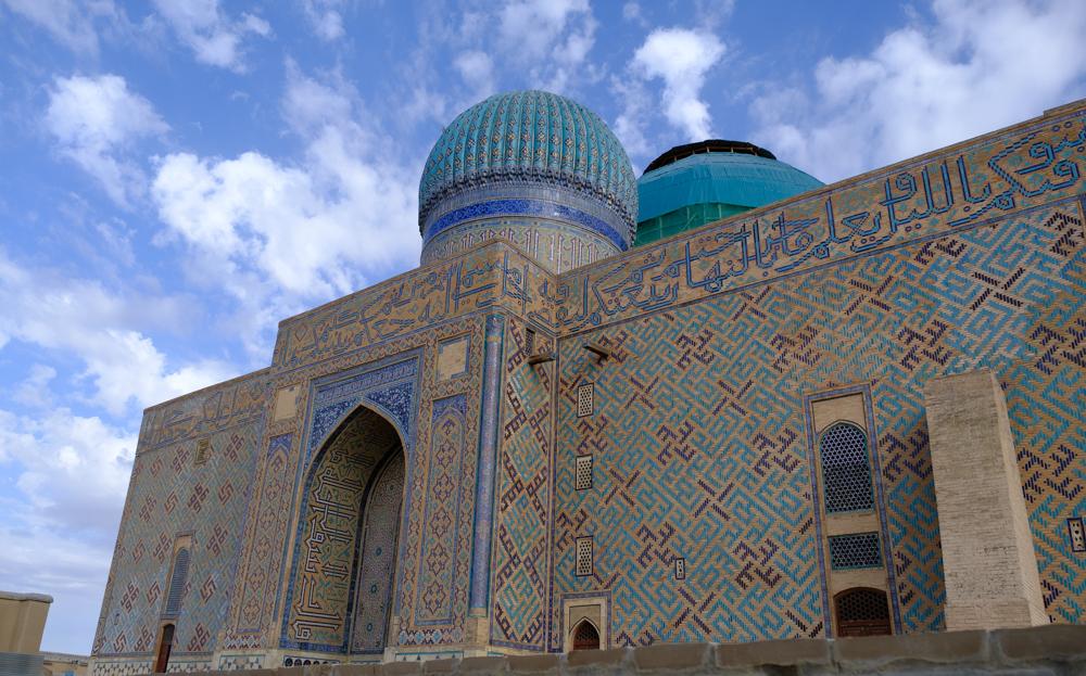 yasaui mausoleum turkestan