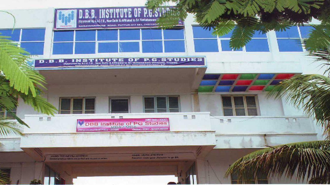 DBB INSTITUTE OF PG STUDIES