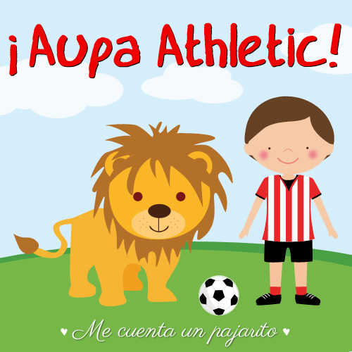 Aupa Athletic, final de la copa del Rey 2014-2015, futbolista, león