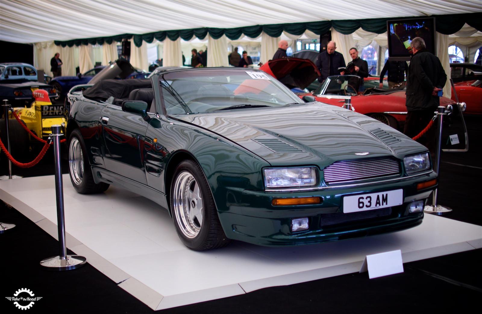 Concours of Elegance to Celebrate Aston Martin and Zagato