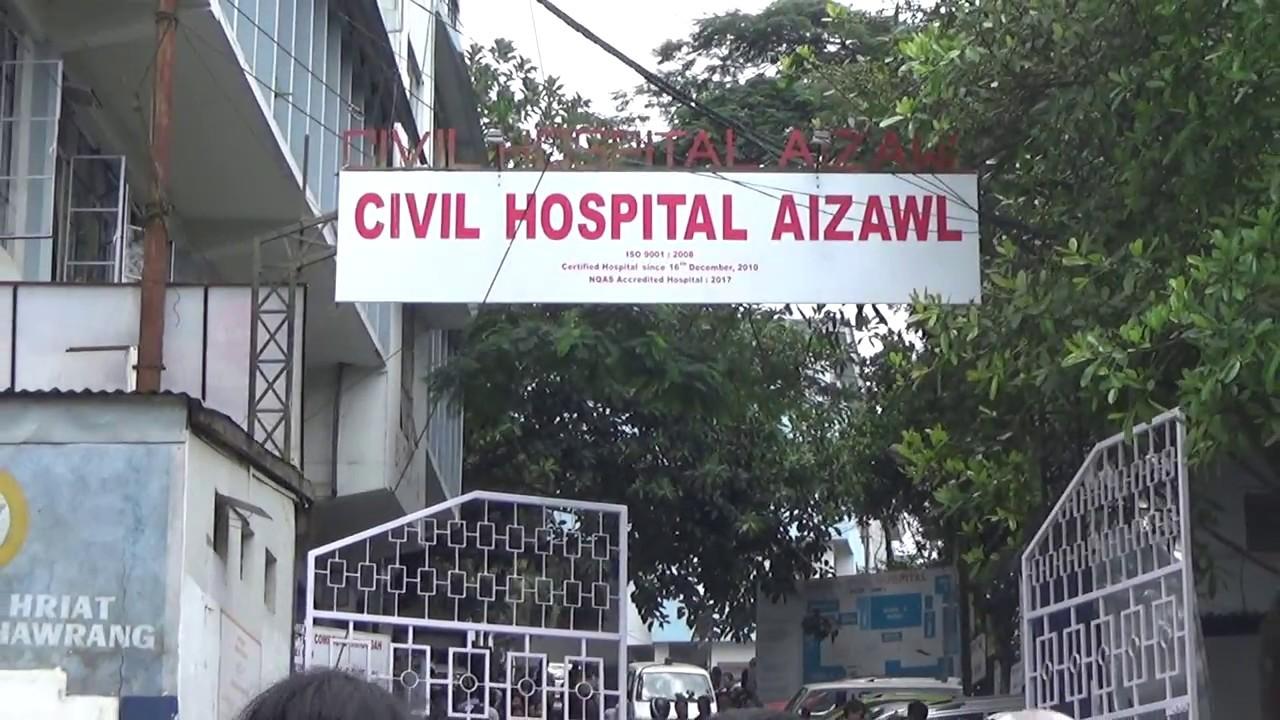 Civil Hospital Aizawl, Mizoram