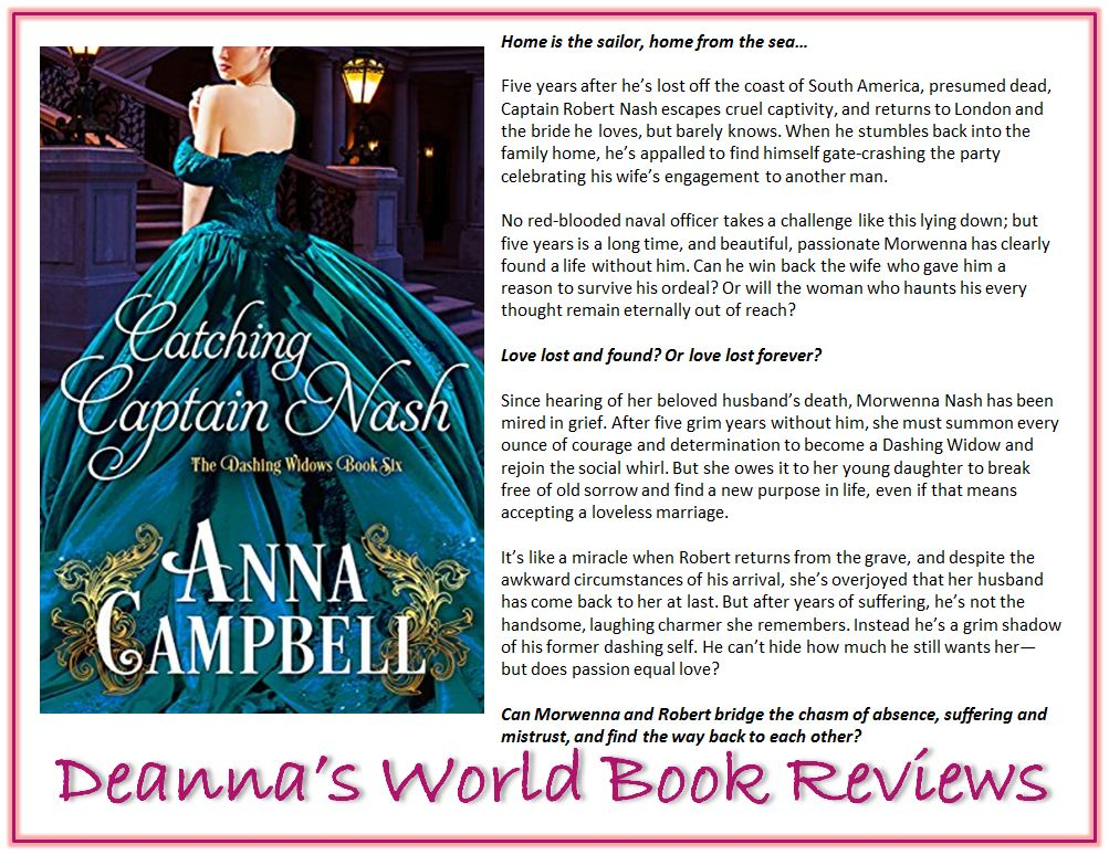 Catching Captain Nash by Anna Campbell blurb