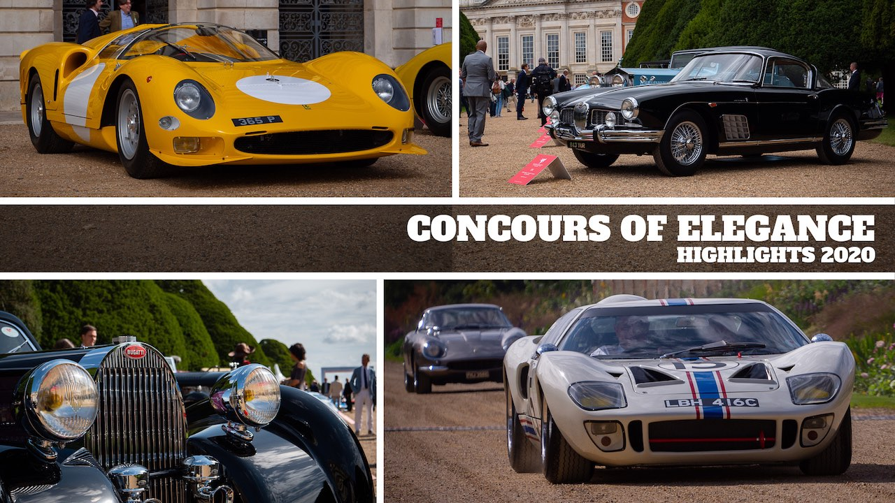 Concours of Elegance 2020 – A display of automotive perfection