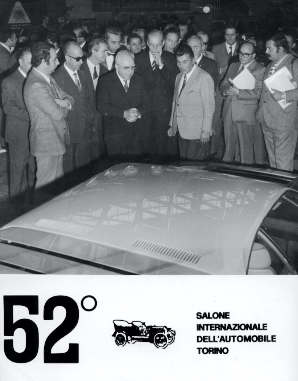 105e anniversaire de la naissance de Ferruccio Lamborghini