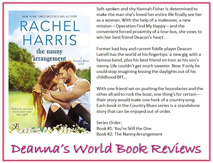 The Nanny Arrangement by Rachel Harris blurb