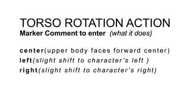 Torso Rotation Action