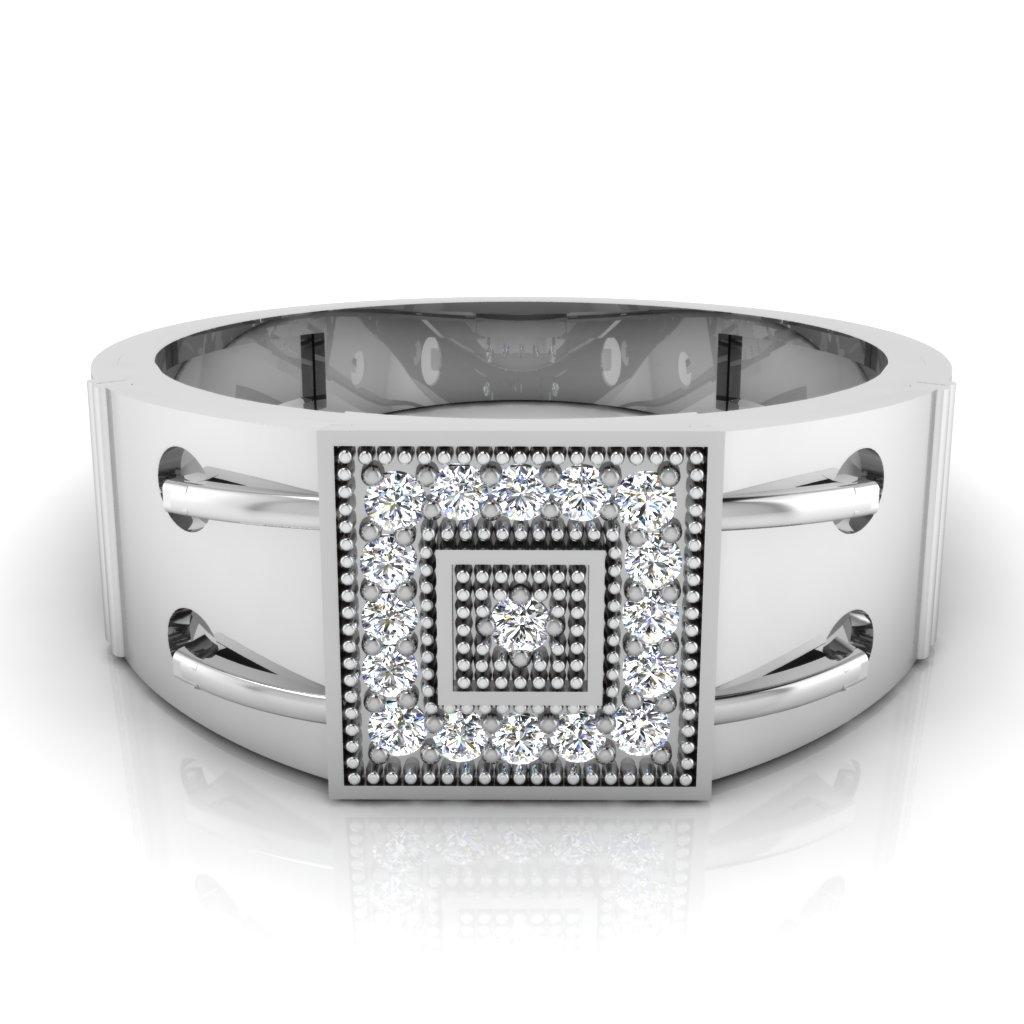 The Radhika Diamond Mens Ring