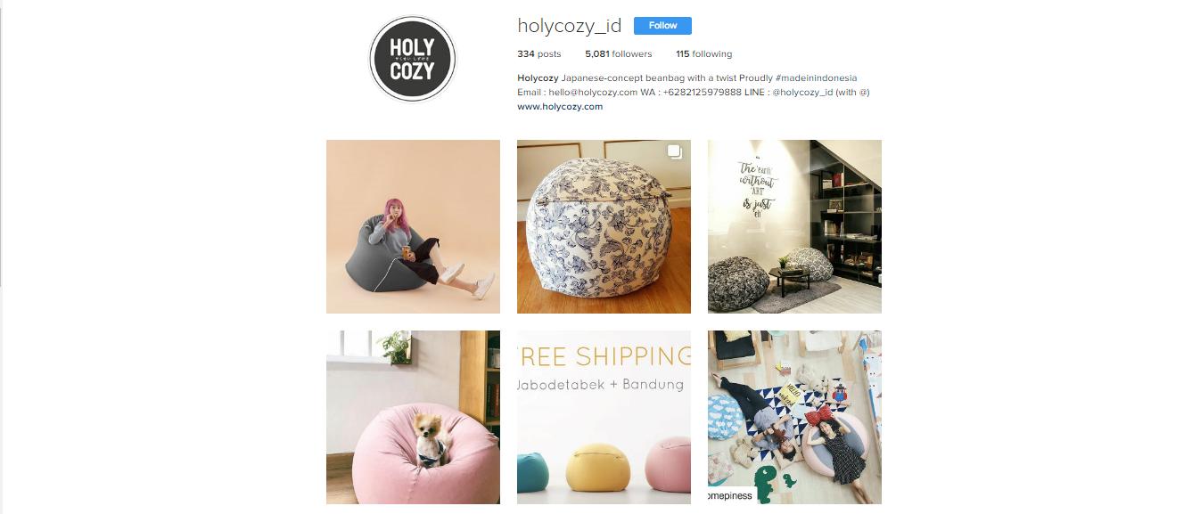 instagram Holycozy