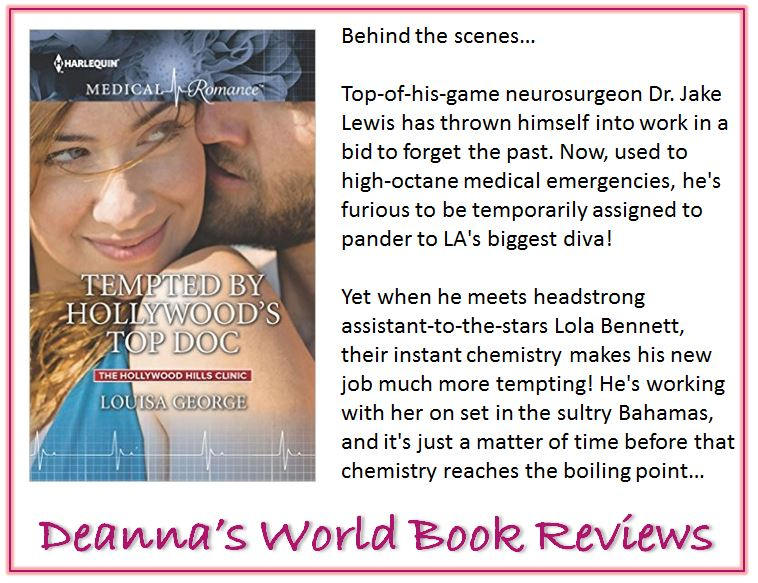 Tempted by Hollywood's Top Doc by Louisa George blurb