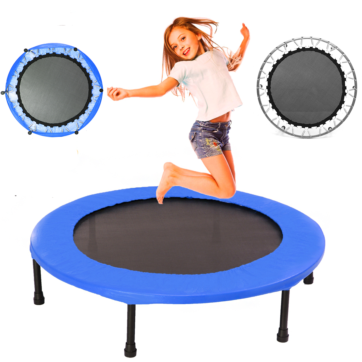 40inch Round Kids Mini Trampoline