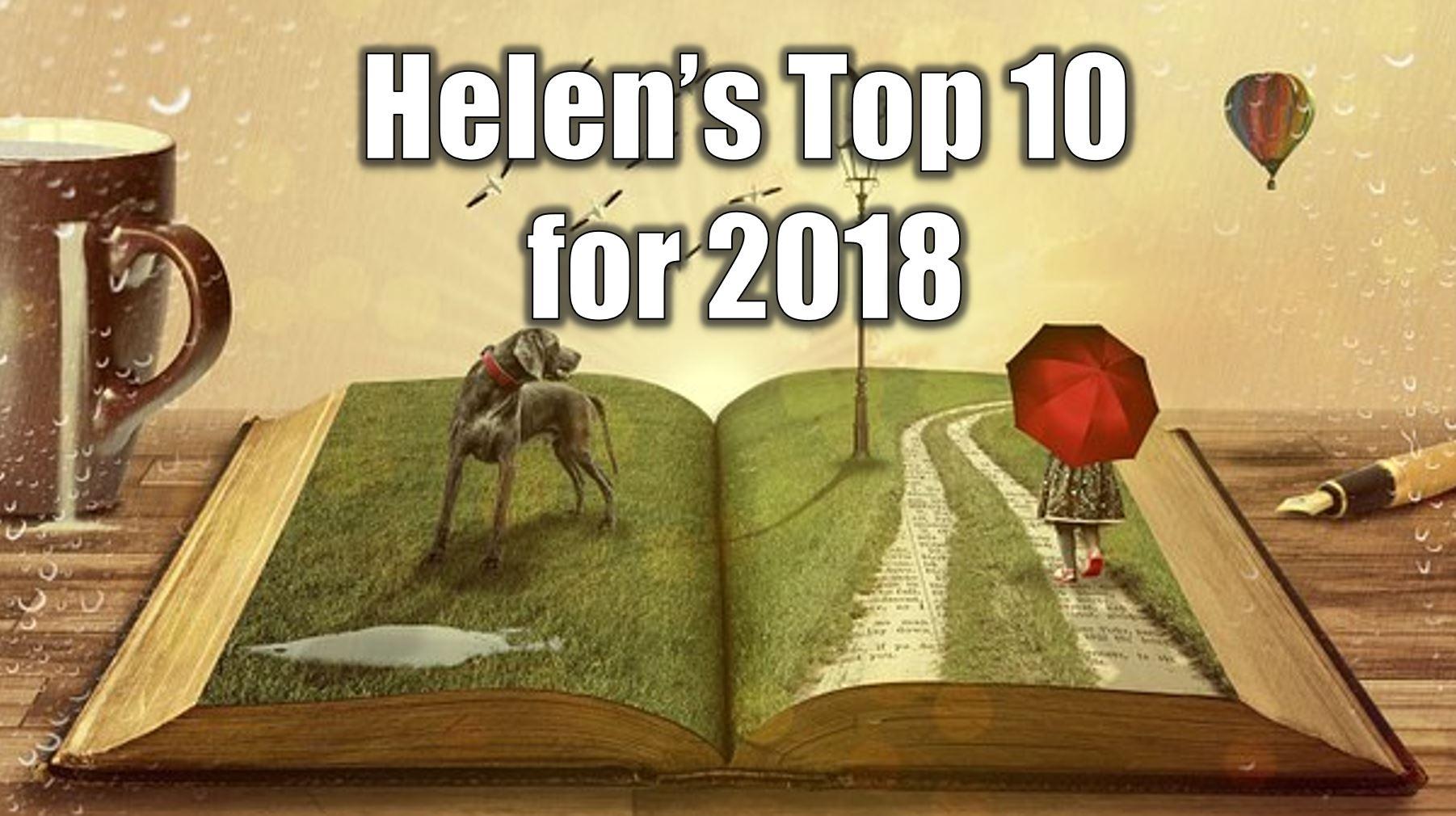 Helen's top 10 2018 reads