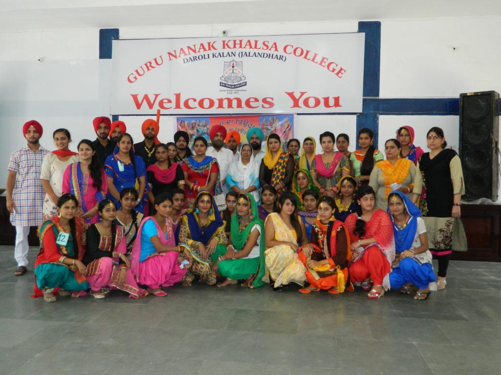 Guru Nanak Khalsa College, Daroli Kalan