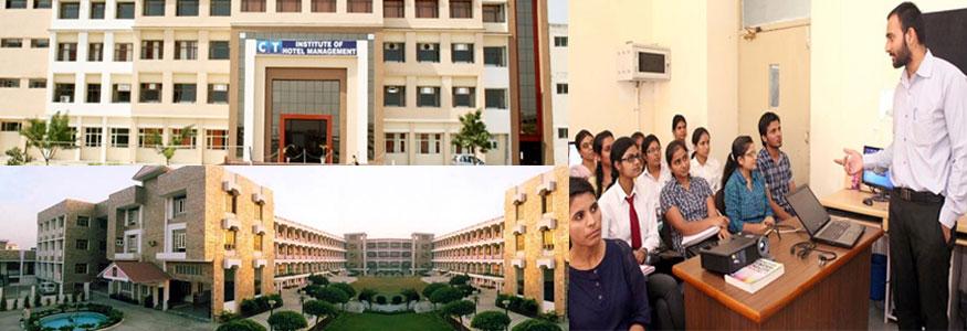 C T Institute of Hotel Management Image