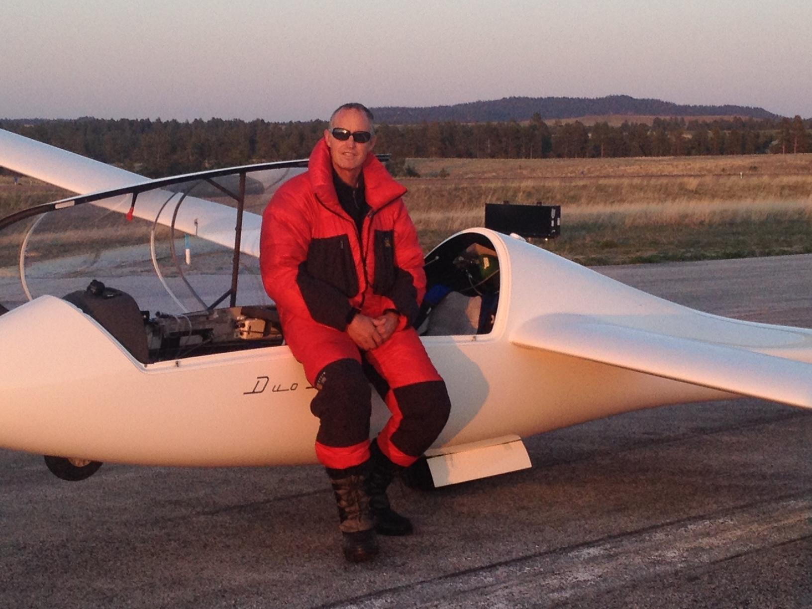 Gordo after landing