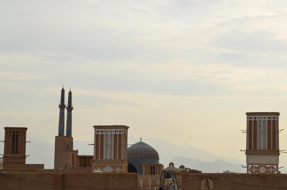 Yazdi skyline