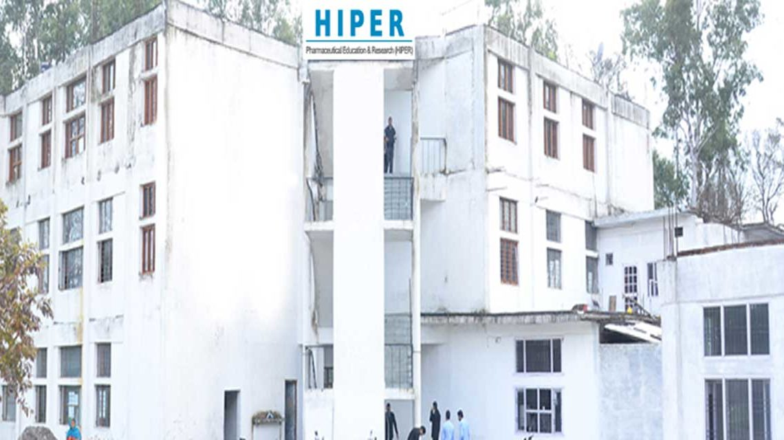 HIMACHAL INSTITUTE OF PHARMACEUTICAL EDUCATION AND RESEARCH