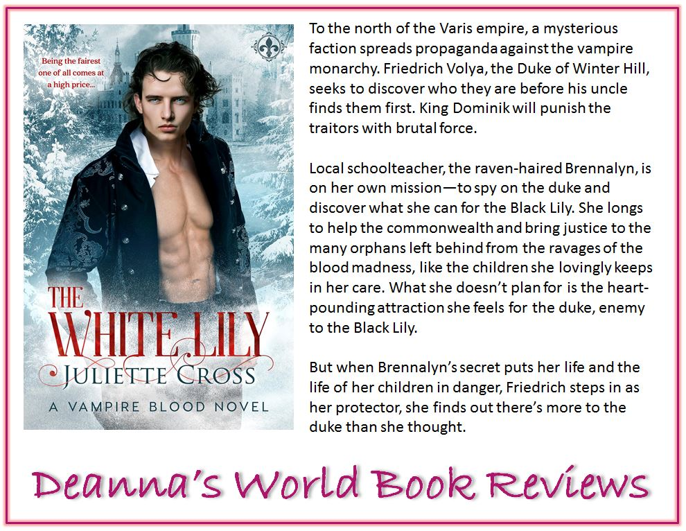 The White Lily by Juliette Cross blurb