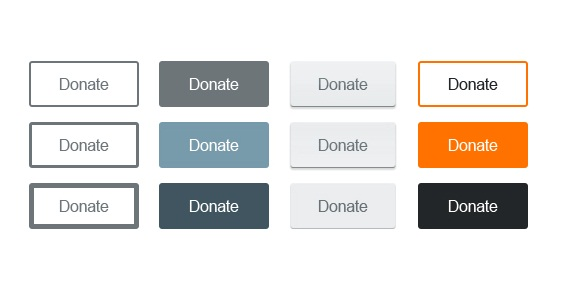 PSD - Minimal Web Buttons