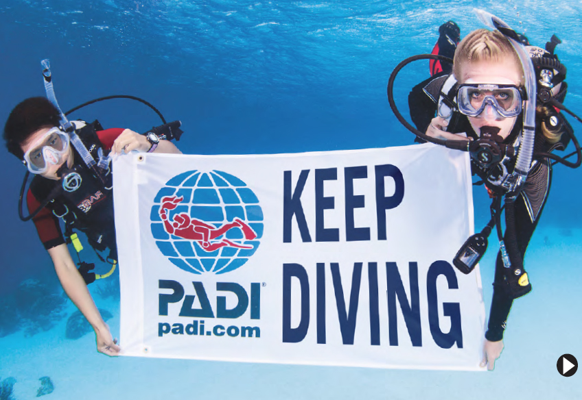 Keep Diving Brochure