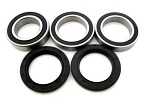 Rear Axle Bearings and Seals Kit 2009 Suzuki LT-Z400 LTZ400