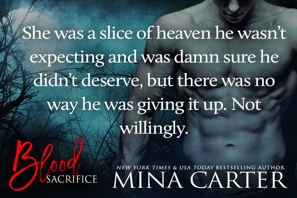 Blood Sacrifice by Mina Carter teaser 2