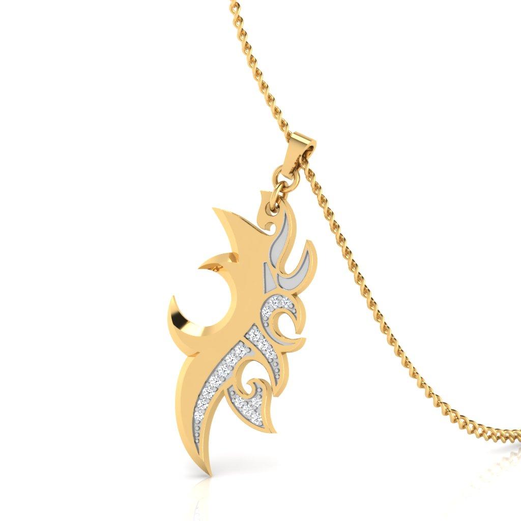 The Designer Cool Dude Diamond Pendant