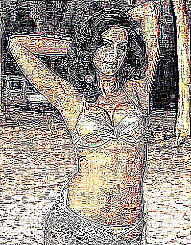 Langage corporel femme