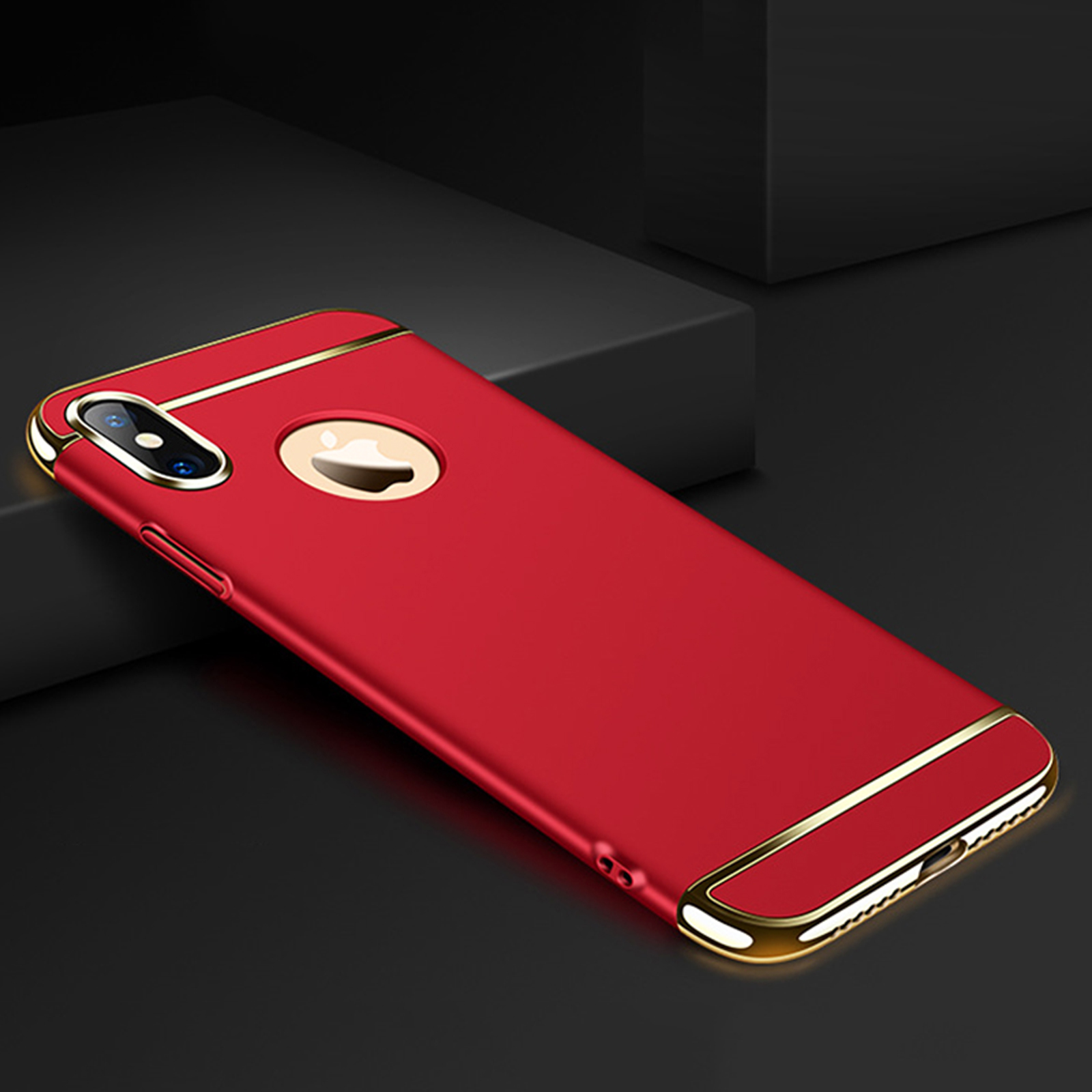 thumbnail 35 - Luxury Matte Case Tempered Glass Cover For Apple iPhone X XS XR Max 10 8 7 6s 6