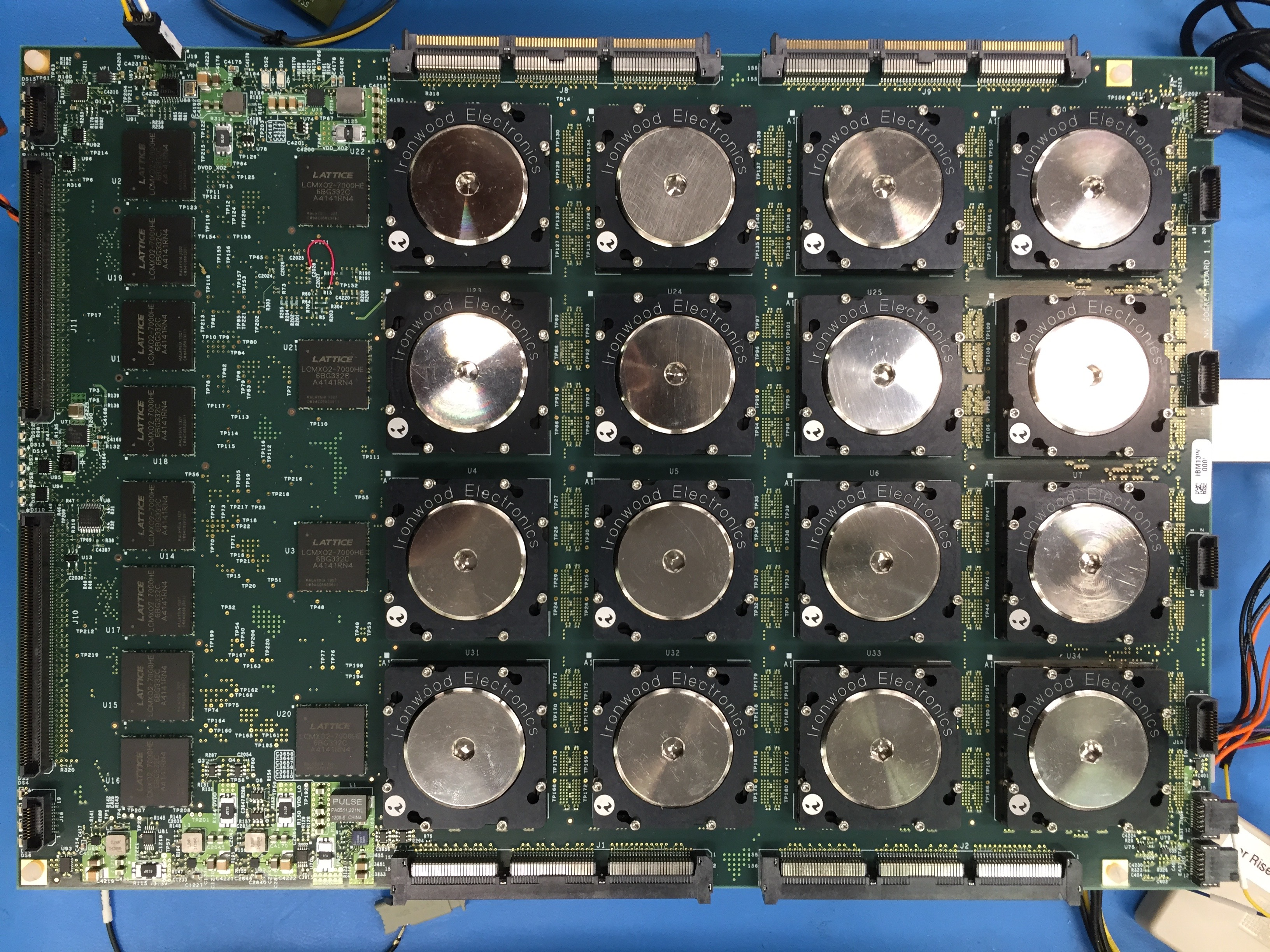 NS16e: System populated with TN-chips using sockets