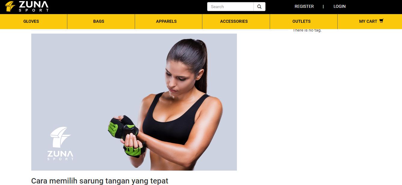 Zuna Sport Blog