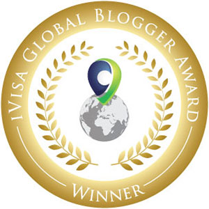Take to the Road receives the iVisa Global Blogger Award
