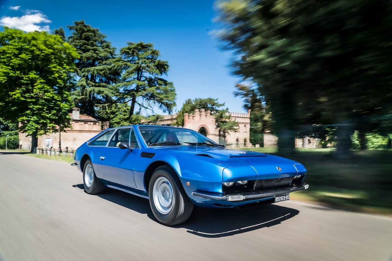 Lamborghini celebrates the 50th Anniversary of the Jarama GT