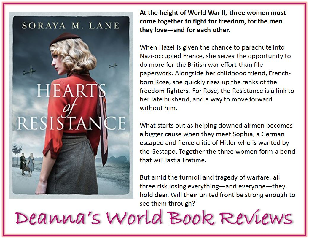 Hearts of Resistance by Soraya M Lane blurb